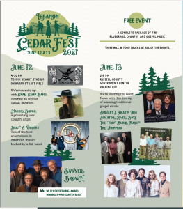Lebanon Cedar Fest 2021 Event