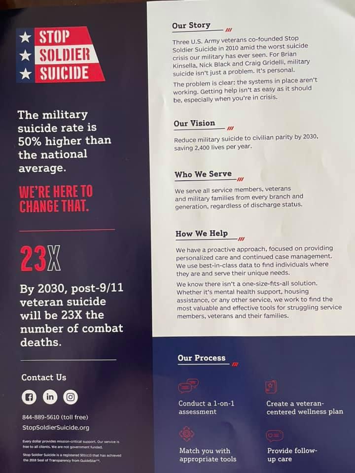 Stop Soldier Suicide Information
